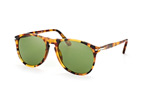 Persol PO 9649S 96/56 Havana / Green perspective view thumbnail