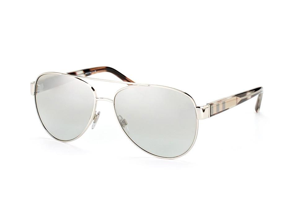 BE 3084 1005/6V, Aviator Sonnenbrillen, Silber