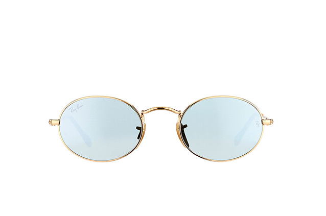 Ray-Ban Oval RB 3547N 001/30 small perspective view