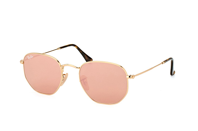 Ray-Ban Hexagonal RB 3548N 001/Z2 Perspektivenansicht