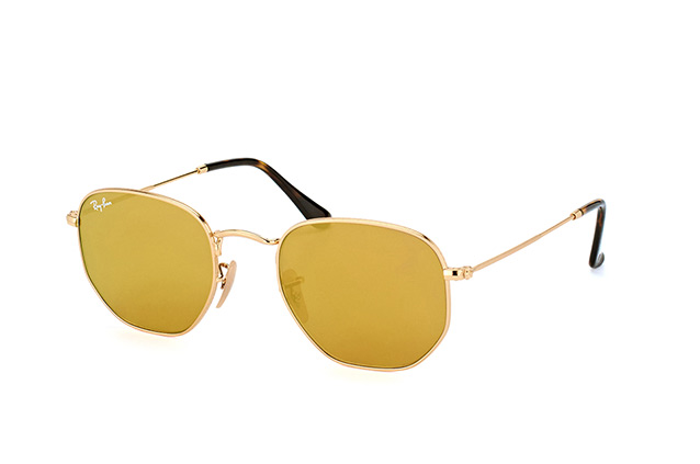 Ray-Ban Hexagonal RB 3548N 001/93 Perspektivenansicht