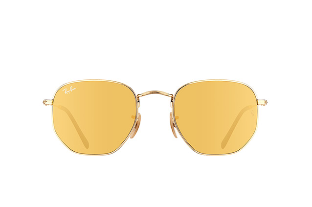 Ray-Ban Hexagonal RB 3548N 001/93 vista en perspectiva