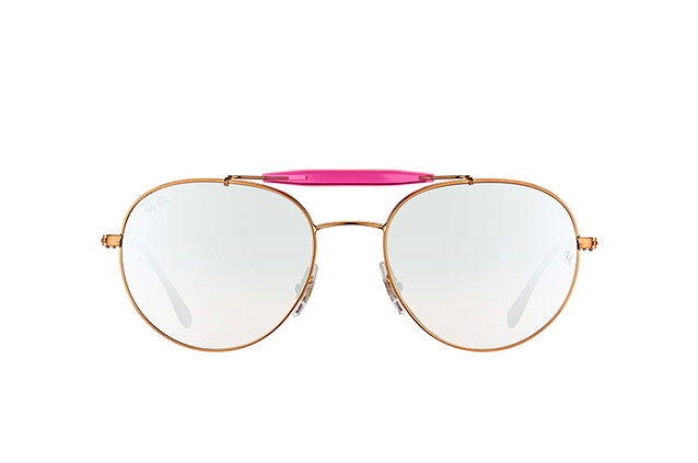 Ray-Ban RB 3540 198/9U vista en perspectiva