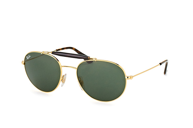 Ray-Ban RB 3540 001 perspective view