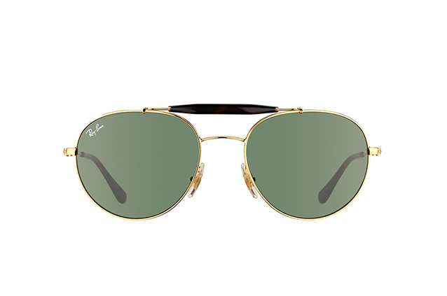 Ray-Ban RB 3540 001 vista en perspectiva