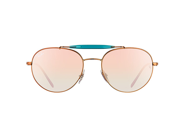 Ray-Ban RB 3540 198/7Y vista en perspectiva