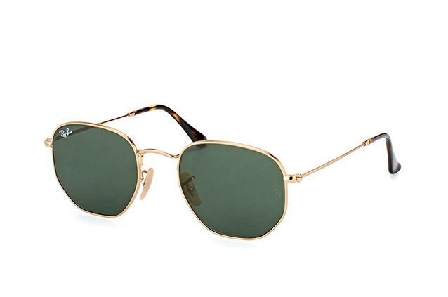 Ray-Ban Hexagonal RB 3548N 001 perspektiv