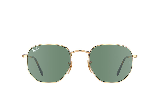 Ray-Ban Hexagonal RB 3548N 001 Perspektivenansicht