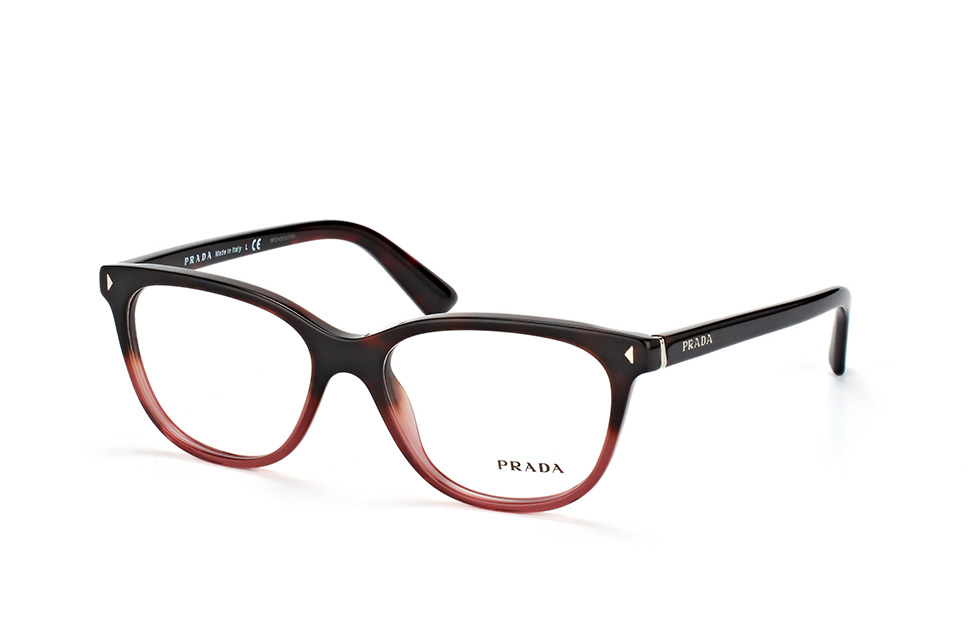 PRADA Prada Damen Brille »JOURNAL PR 14RV«, schwarz, 1AB1O1 - schwarz