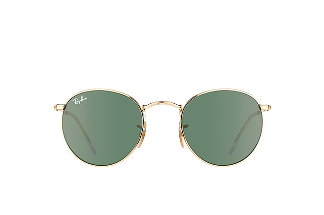 Ray-Ban Round Metal RB 3447 001 small perspective view