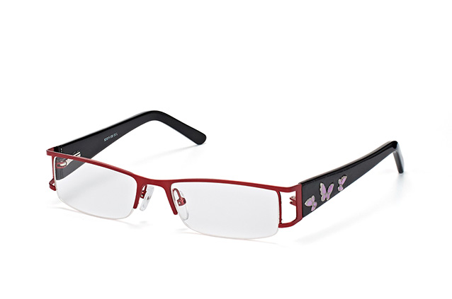 Mister Spex Collection Caro L142 Burgundy perspective view
