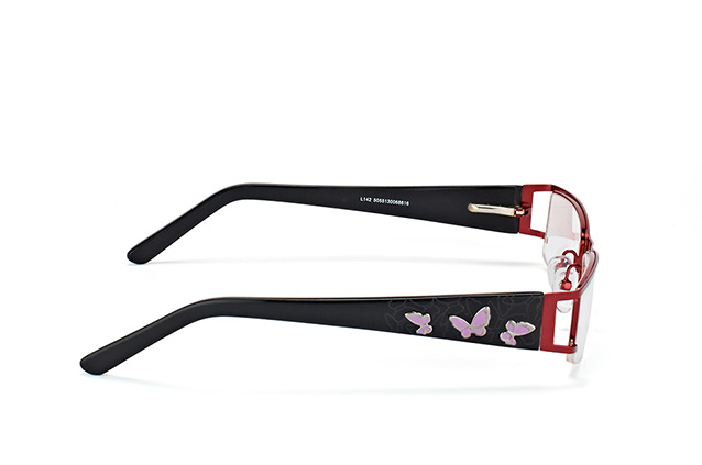 Mister Spex Collection Caro L142 Burgundy vista en perspectiva