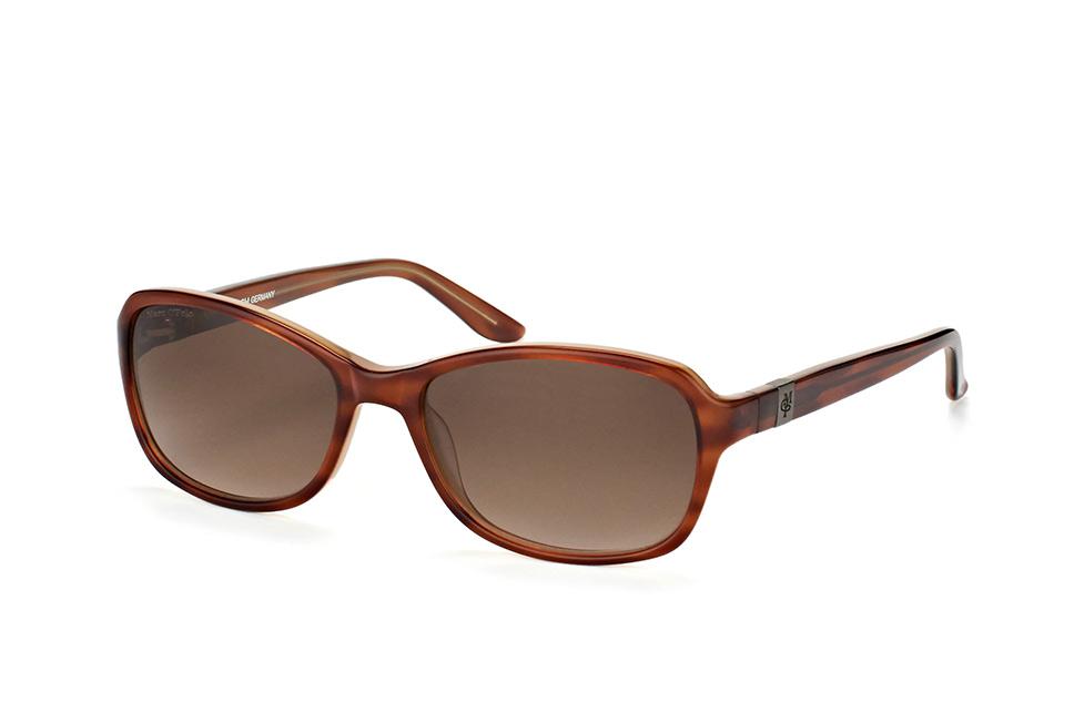 Marc O'polo Eyewear 506090 61, Square Sonnenbrillen, Havana