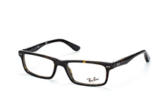 Ray-Ban RX 5277 2012, Rectangle Brillen, Havana