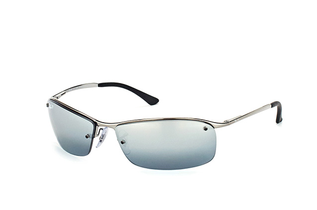 Ray Ban Top Bar RB 3183 004/82 Perspective ...