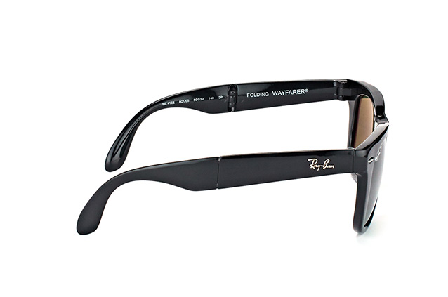 Ray-Ban Fold Wayfarer RB 4105 601/58 perspective view