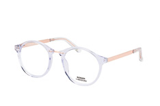 Blogger for Mister Spex Marina 002, Round Brillen, Transparent