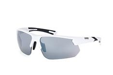 Uvex 221 S530981 8816, Sporty Sonnenbrillen, Weiss