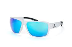 Adidas Jaysor AD 20 00 6053, Sporty Sonnenbrillen, Transparent