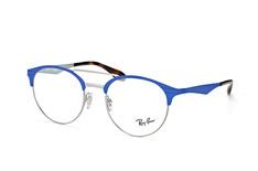 Ray-Ban RX 3545V 2911, Aviator Brillen, Blau