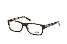 ray-ban-rx-5268-5676-rectangle-brillen-havana