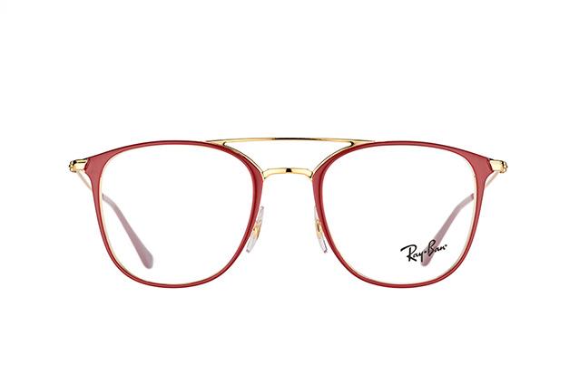 RAY BAN RAY-BAN Brille » RX6377«, goldfarben, 2910 - gold