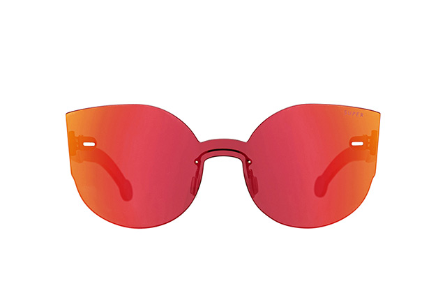 Super by Retrosuperfuture Tuttolente Lucia Red 73Q vista en perspectiva