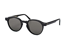 Super by Retrosuperfuture The Iconic Series Black 85L, Round Sonnenbrillen, Schwarz