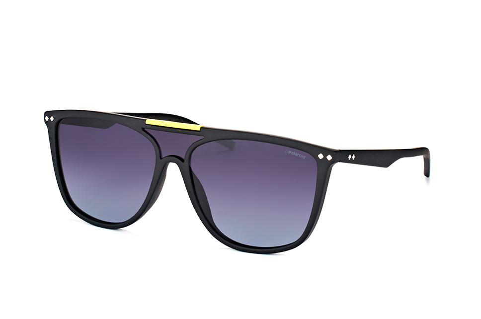 PLD 6024/s DL5 WJ, Singlelens Sonnenbrillen, Schwarz