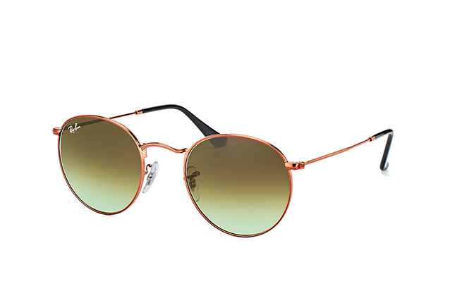 Ray-Ban Round Metal RB 3447 9002/A6 vista en perspectiva