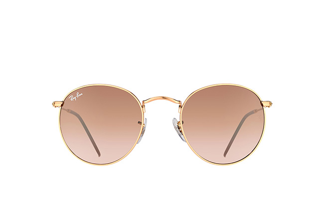 Ray-Ban Round Metal RB 3447 9001/A5 vista en perspectiva