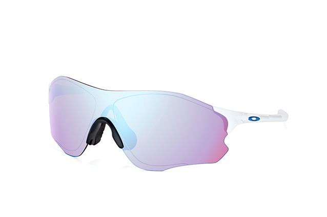 Oakley EVZero Path Sonnenbrille Polished White/Prizm Snow rlJI8L