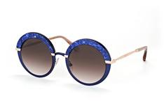 Jimmy Choo Gotha/S 3UE JS, Round Sonnenbrillen, Blau