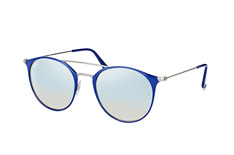 Ray-Ban RB 3546 9010/9U large, Aviator Sonnenbrillen, Blau