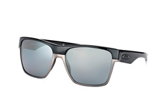 Oakley Two Face XL OO 9350 01, Square Sonnenbrillen, Grau
