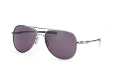 Oakley Elmont L OO 4119 01, Aviator Sonnenbrillen, Silber