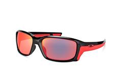 Oakley Straightlink OO 9331 08 large, Sporty Sonnenbrillen, Schwarz