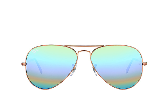 Ray-Ban Aviator RB 3025 9018/C3 vista en perspectiva