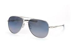 Oakley Elmont L OO 4119 02, Aviator Sonnenbrillen, Silber