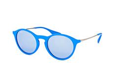 Ray-Ban RB 4243 6263/1U, Round Sonnenbrillen, Blau
