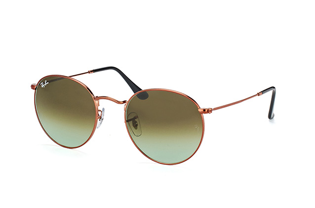 Ray-Ban Round M. RB 3447 9002/A6 large vista en perspectiva