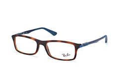 ray-ban-rx-7017-5574-rectangle-brillen-havana
