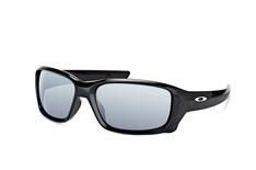 Oakley Straightlink OO 9331 01 small, Sporty Sonnenbrillen, Schwarz