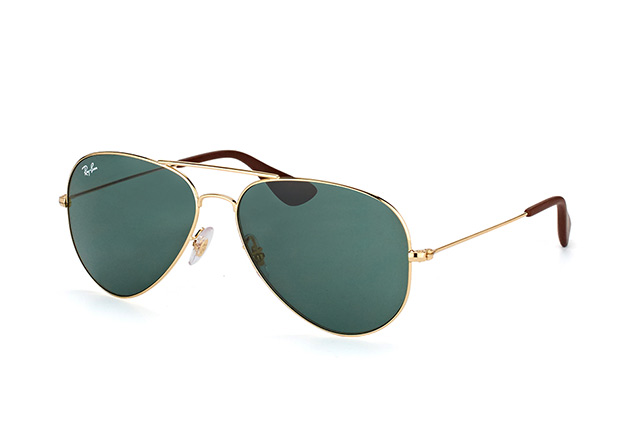 Ray-Ban RB 3558 001/71 vista en perspectiva