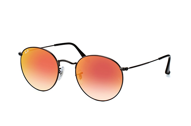 Ray-Ban Round M. RB 3447 002/4W large Perspektivenansicht