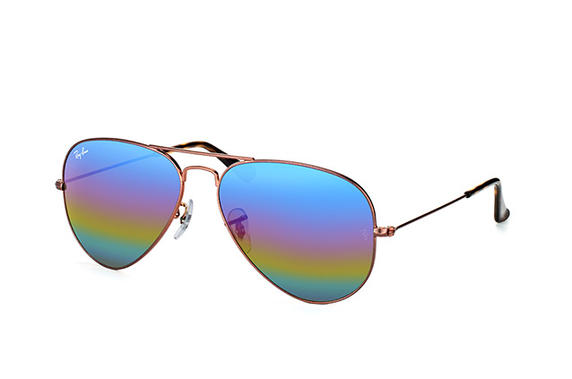 Ray-Ban Aviator large RB 3025 9019/C2 perspective view