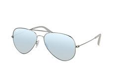 Ray-Ban RB 3558 004/b8, Aviator Sonnenbrillen, Silber