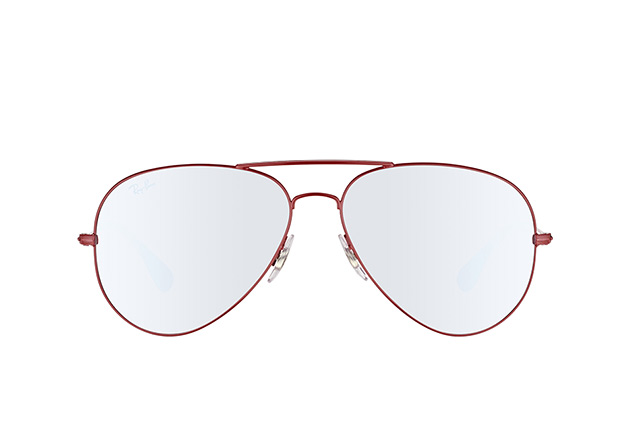 RAY BAN RAY-BAN Sonnenbrille » RB3558«, rot, 9017B5 - rot/silber
