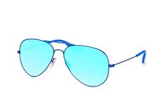 Ray-Ban RB 3558 9016/b7, Aviator Sonnenbrillen, Blau
