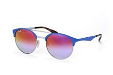 Ray-Ban RB 3545 9005/a9, Browline Sonnenbrillen, Blau